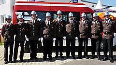 Fahrzeug- und Feuerwehrhaussegnung 2012