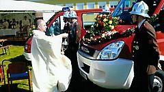 Fahrzeugsegnung 2010