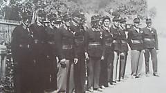 Ehrenzug bei Feuerwehrhaussegnung 1957