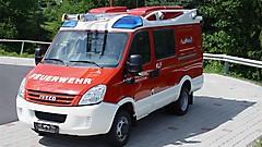 Kleinlöschfahrzeug, gesegnet 2012