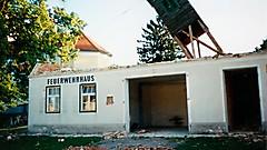 Abriss altes Feuerwehrhaus