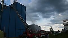 Brand Biostromanlage 2011