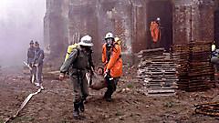 Brand in der St. Emmerichs-Kirche 1991