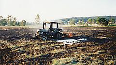 Traktor- und Flächenbrand 2002