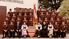 Fahnenweihe 1985