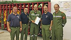 Beförderung Jürgen Pree