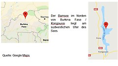 Hilfe für Burkina Faso