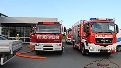 Brandeinsatzübung