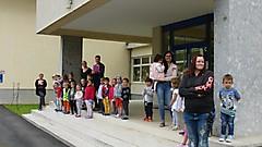 Übung im Kindergarten