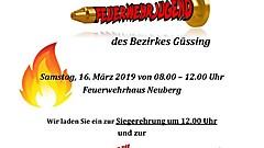 Einladung Wissenstest Neuberg