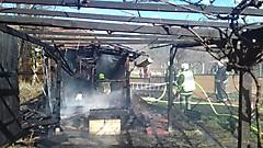 Gartenhüttenbrand Reinersdorf
