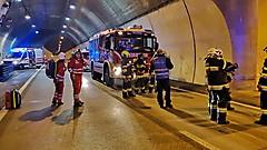 Tunnelübung Schartnerkogeltunnel