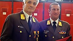Ernennung zum Ehrenabschnittskommandanten