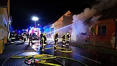 Gebäudebrand Stinatz
