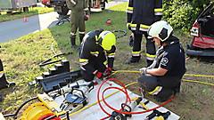 Übung FF Ollersdorf/FF Stegersbach