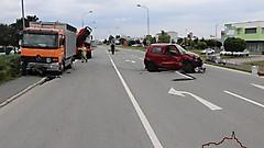 Vekehrsunfall in Güssing