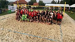 1. Beachvolleyballturnier in Gamischdorf