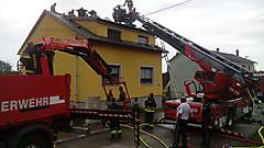 Dachstuhlbrand Stegersbach