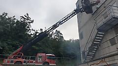 Übung im Brandhaus Eisenstadt