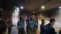 Übung im Plabutsch-Tunnel