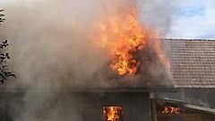 Gartenhüttenbrand