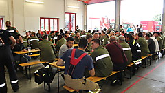 Feuerwehrhaus Güssing - Abschluß KHD-Übung