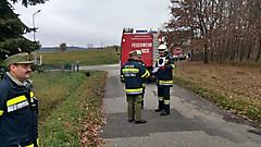 Branddienstleistungsprüfung in Strem