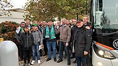 Fans aus dem Abschnitt III