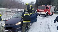 Fahrzeugbergung in Ollersdorf, Hocheck
