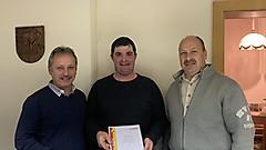 Offizielle Ernennung zum Kdt von Winten - Christian Mittl