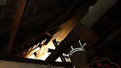 Dachstuhlbrand in St. Nikolaus - FF Güssing