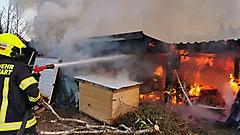 Brand in Rauchwart