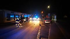 Verkehrsunfall in Ollersdorf