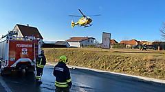 Brand in einem Mehrparteienhaus in Wörterberg