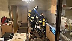 Brandverdacht in Küche - Stinatz