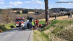 Verkehrsunfall in Rohr