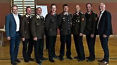 Kommandoübergabe in Olbendorf