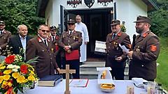 Segnung der Floriani Kapelle - Stinatz