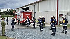 Brandienstleistungprüfung Stufe III - Bildein