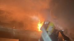 Küchenbrand in Bildein