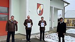 Gamischdorf - Wahl des Kdt und des Kdt-Stv