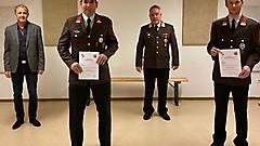 Das neue/alte Führungsduo in Hagensdorf