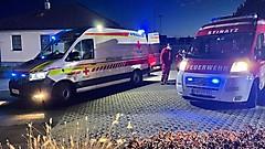 Unfall in Stinatz