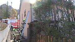 Thujenbrand in der Grabenstraße