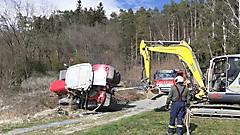 Traktorbergung in Ollersdorf