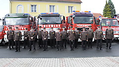 Umzug in das neue Feuerwehrhaus