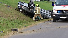 Verkehrsunfall Glasing