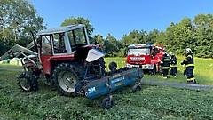 Traktorbergung in Wörterberg