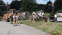 LKW-Bergung in Gerersdorf