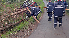 Traktorbergung in Bildein